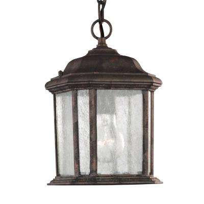 Kent 1-Light Oxford Bronze Outdoor Pendant Fixture