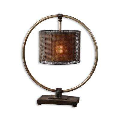 27-1/2 in. Dark Bronze Buffet Lamp