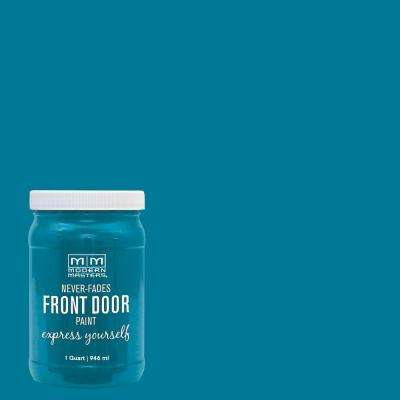 Express Yourself 1-qt. Satin Tranquil Front Door Paint