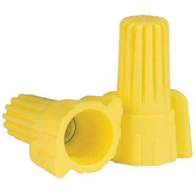 Yellow Wing Wire Connector (4000-Piece per Bucket)