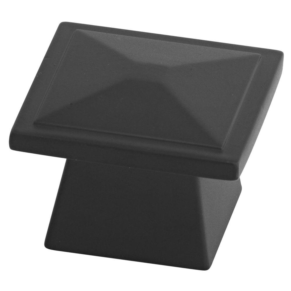 Stanley-National Hardware Prairie 1-5/16 in. Oil Rubbed Bronze Cabinet Knob (2-Pack)