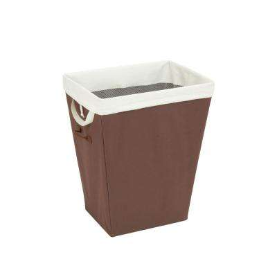 Laundry Hamper with Removable Liner in Brown