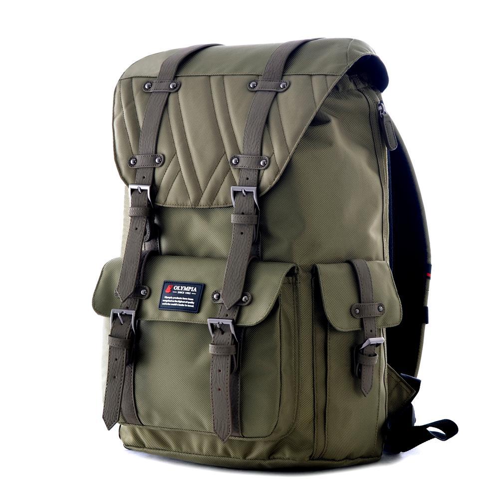 HOPKINS 18 in. Olive Backpack