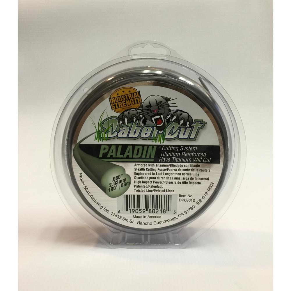 SaberCut 0.080 in. 190 ft. Small Donut Paladin Twisted Trimmer Line