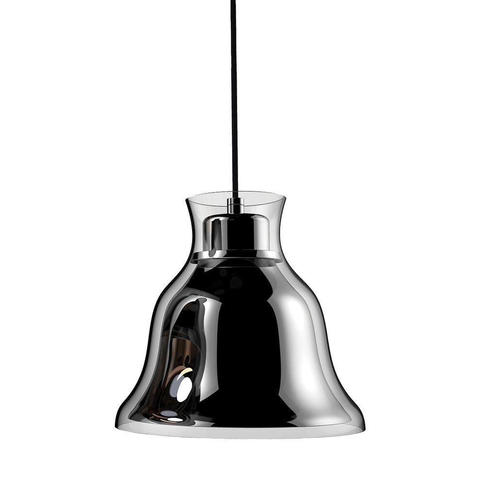 Titan Lighting Bolero 1-Light Chrome Pendant