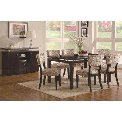 Libby Collection Tan/Cappuccino Dining Chair (Set of 2)