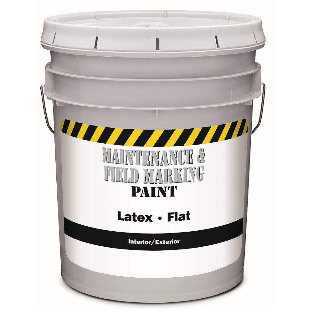 5 Gal Flat Interior And Exterior Paint