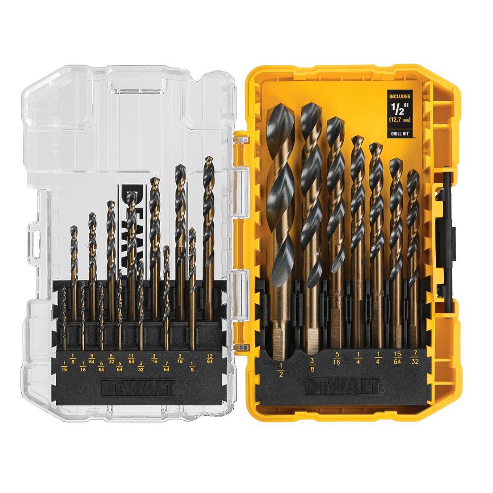 Black Oxide Drill Bit Set (21-Piece)