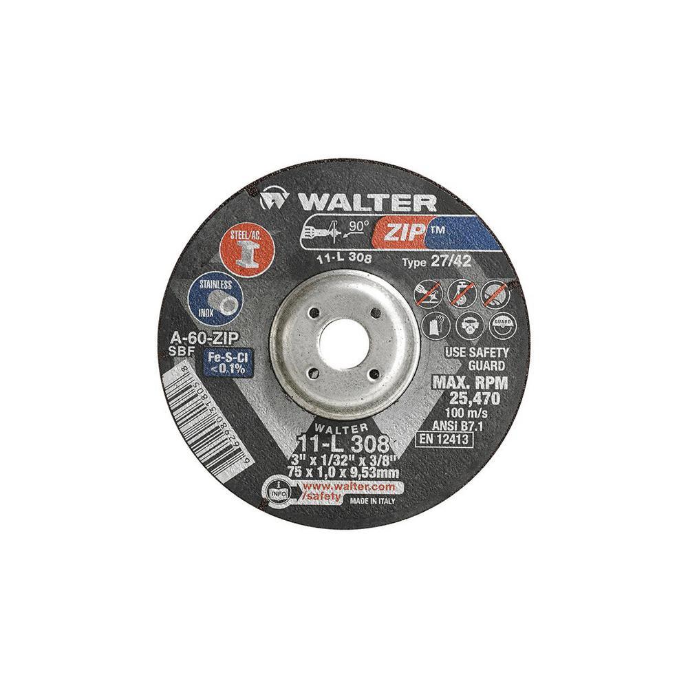 Cut-Off Wheel 3 x 1//16  x 3//8 10 PC Cut-Off Wheel for Die Grinder United USA