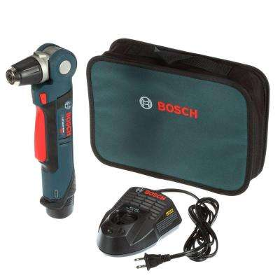 12-Volt Lithium-Ion Cordless 3/8 in. Variable Speed Right Angle Drill/Driver Kit with 2.0Ah Battery and Charger
