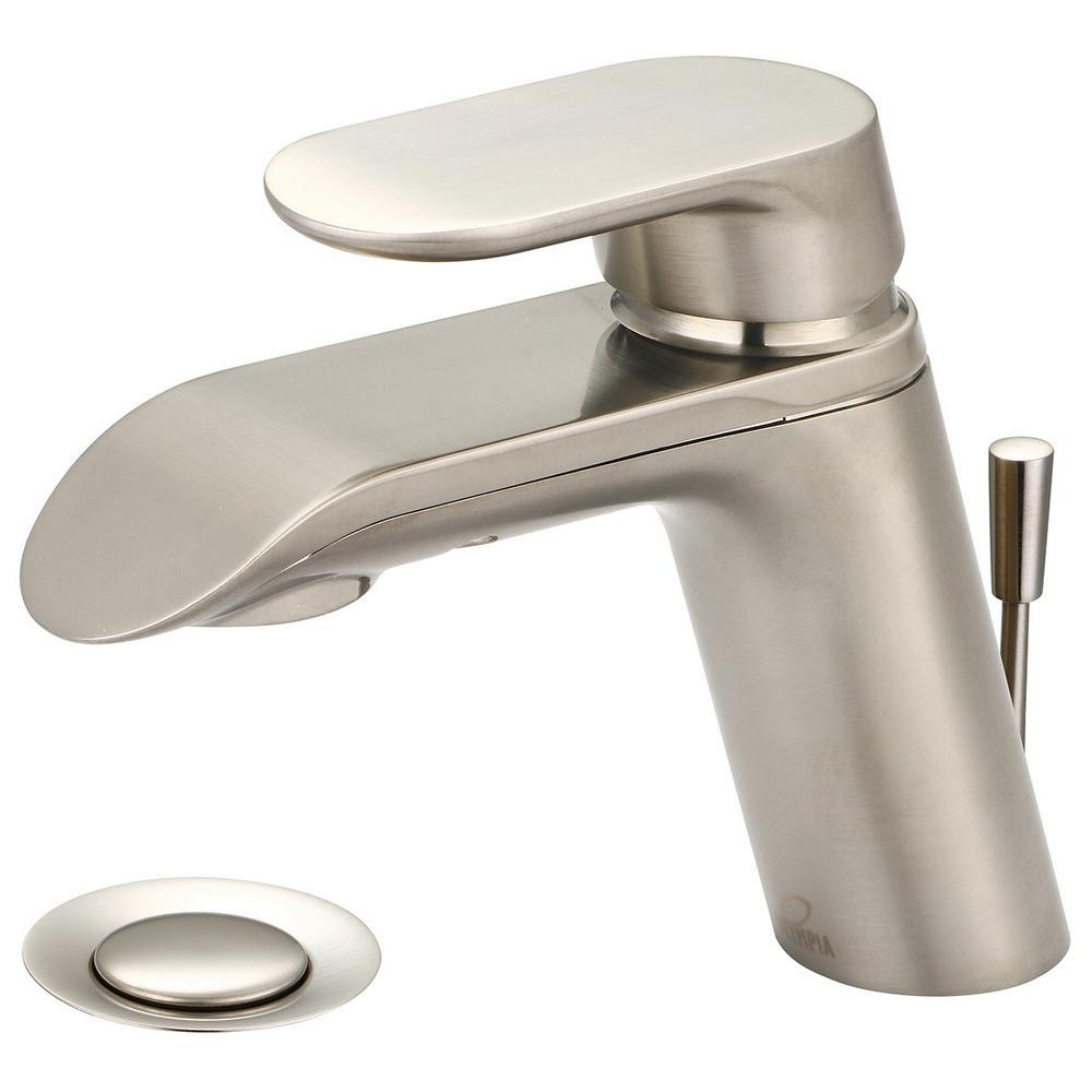 Olympia Faucets I1 Single Hole Single Handle Bathroom Faucet In