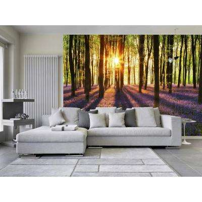 100 in. x 144 in. Woodland at Dawn Wall Mural