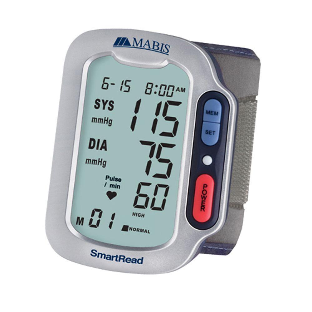 null Smart Read Plus Automatic Wrist Digital Blood Pressure Monitors with Jumbo Display