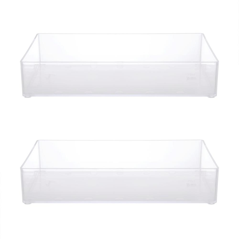 Awesome Kenney Bathroom Countertop Organizer Tray In Clear Set Of 2 Download Free Architecture Designs Scobabritishbridgeorg
