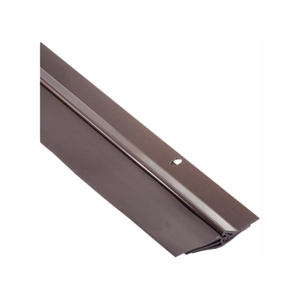 Simply Conserve Triple Seal 2-1/8 in. x 36 in. Brown Aluminum Door Sweep Contractor Pack of 50