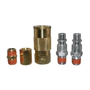 """5pc  Quick Coupler Set Air Hose Connector Fittings 3//8/"""" ."""