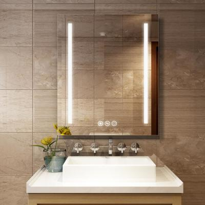 30in x 36in Led Framelss Bathroom Mirror with sensor touch