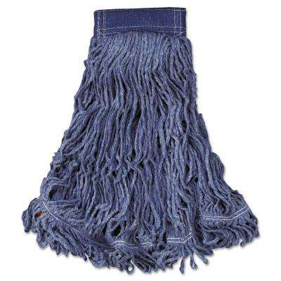 X-Large Blue Swinger Wet Mop Heads (Case of 6)