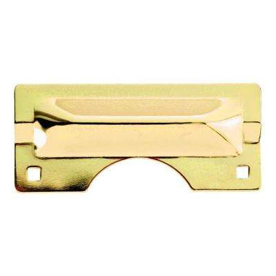 Polished Brass Heavy Duty Latch Guard