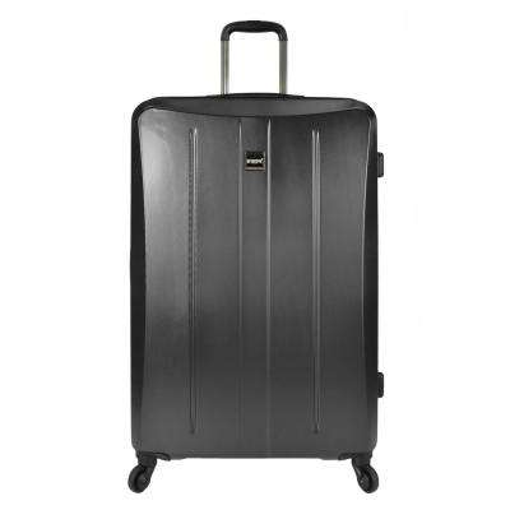 Highrock 30 in. Hardside Spinner Suitcase, Charcoal