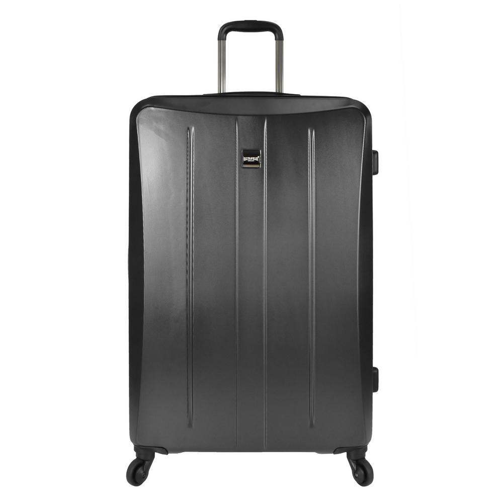 U.S. Traveler Highrock 30 in. Hardside Spinner Suitcase, Charcoal