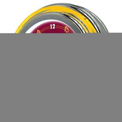 14 in. Arizona State University Neon Wall Clock