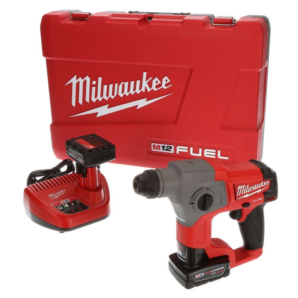 Milwaukee M12 FUEL 12-Volt Lithium-Ion 5/8 in. Brushless Cordless