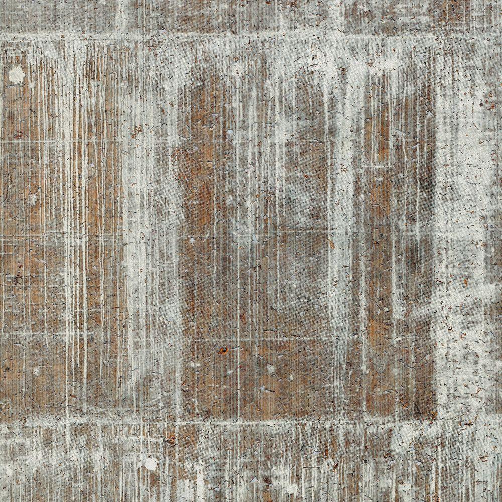 The Wallpaper Company 72 sq. ft. Light Green Concrete Cork Wallpaper