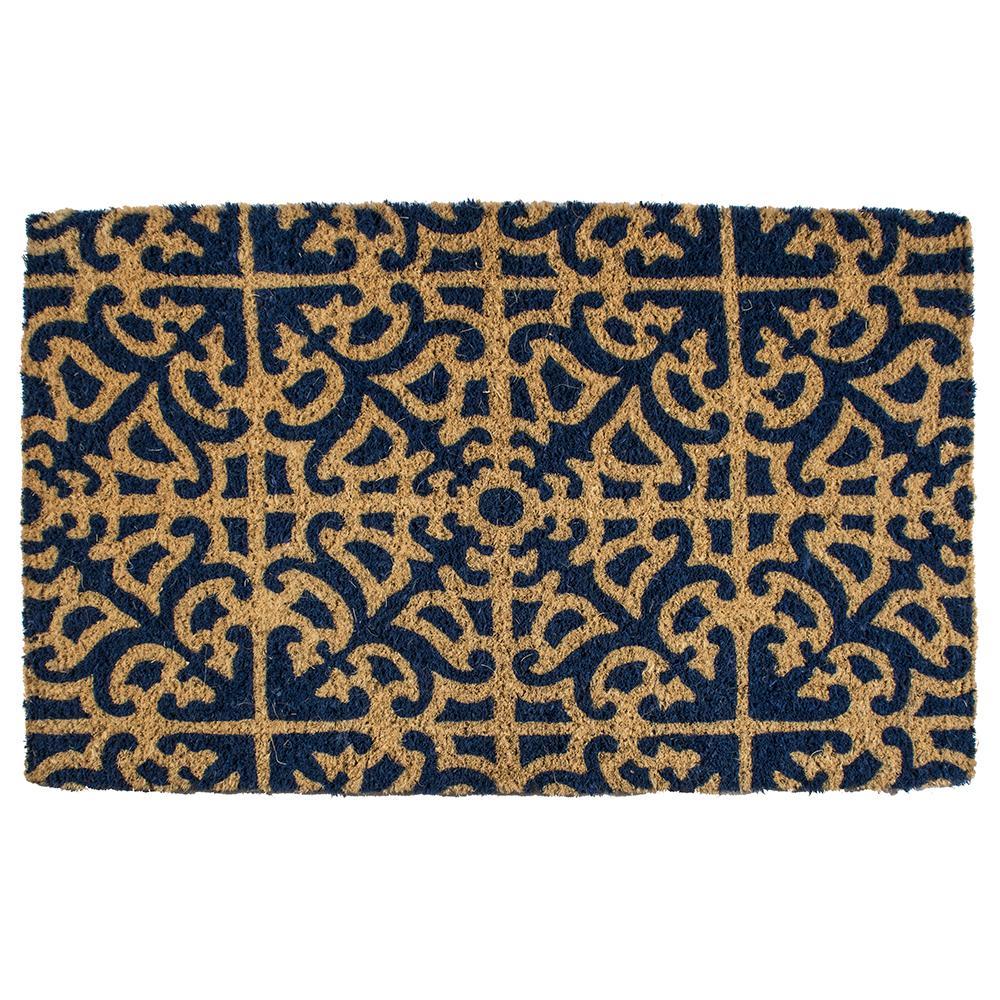 Parterre 22 in. x 35 in. Hand Woven Coconut Fiber Door Mat