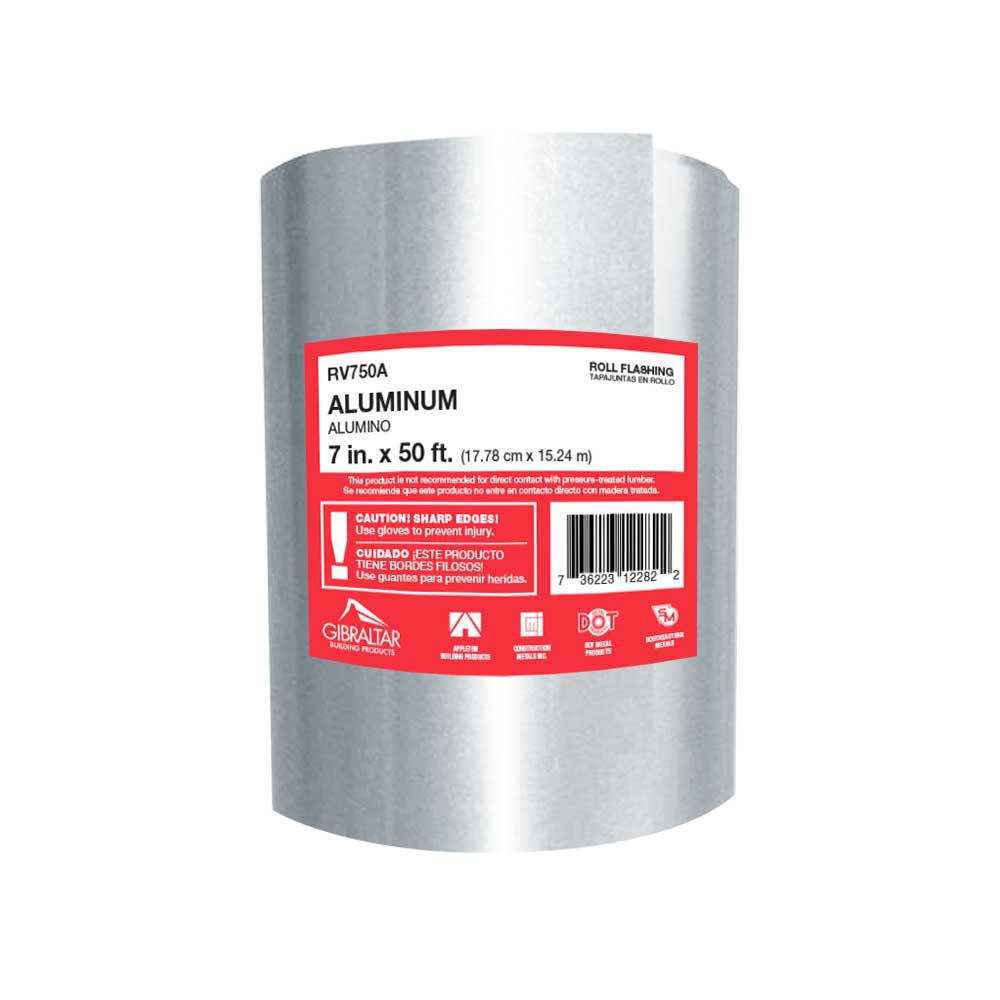 Gibraltar Building Products 7 In. X 50 Ft. Aluminum Roll