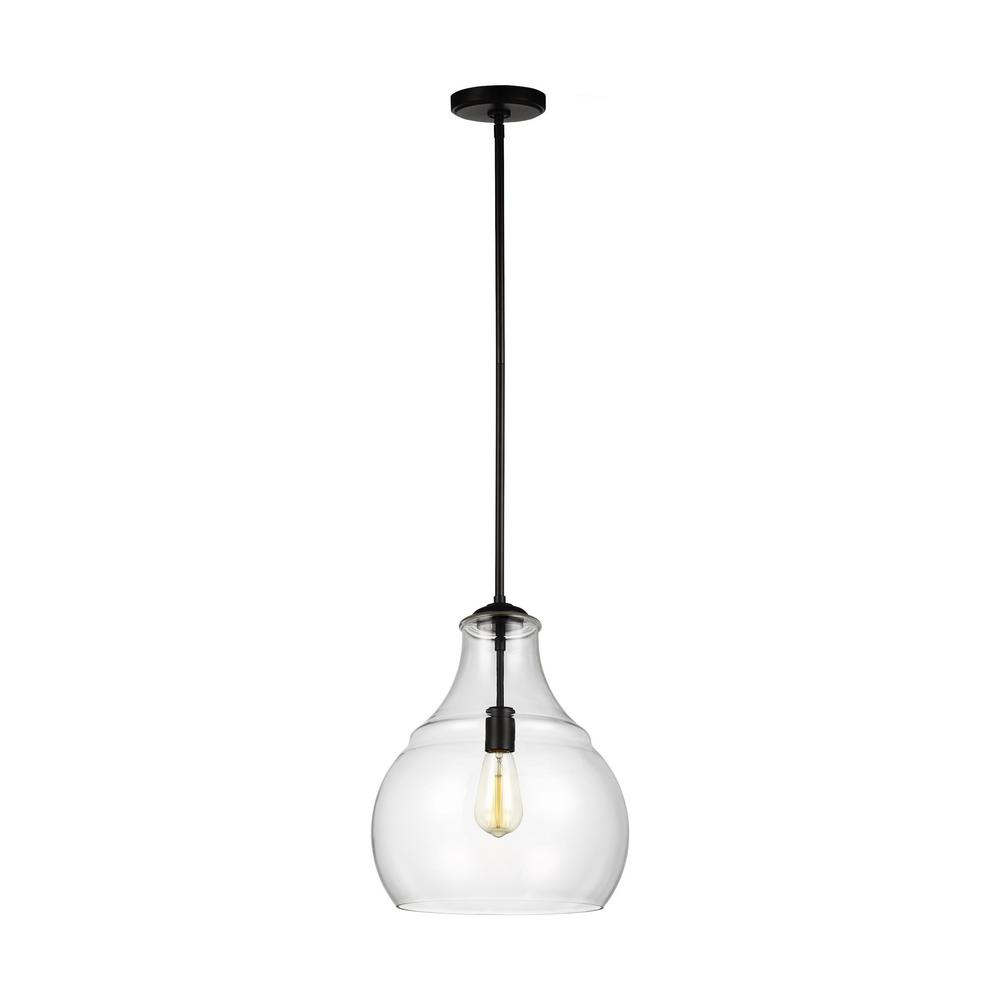 Sea Gull Lighting Zola 1 Light Oil Rubbed Bronze Pendant