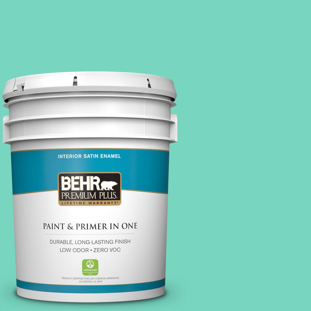 Exterior Paint Colors Home Depot: Green Parakeet Behr Paint