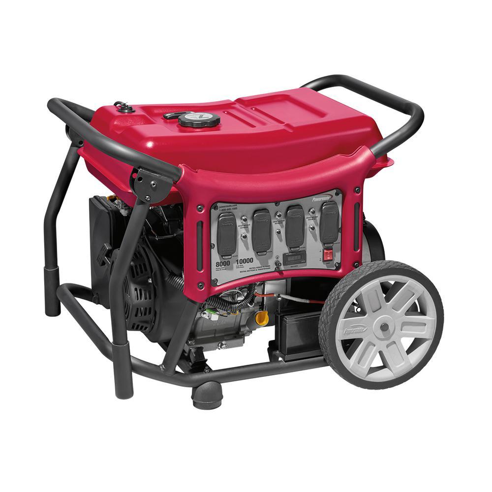 Powermate Generators Outdoor Power Equipment The Home Depot Portable Generator 7500 Watt Wiring Diagram And Parts List Cx Series 8000 Gasoline Powered Electric Start
