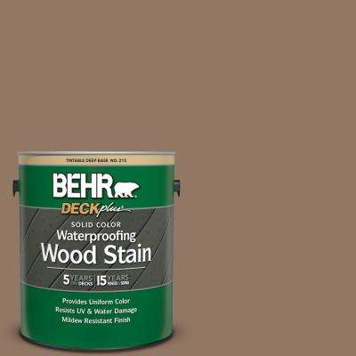 1 gal. #SC-147 Castle Gray Solid Color Waterproofing Exterior Wood Stain