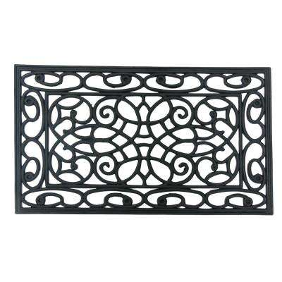 Orion 18 in. x 30 in. Rubber Cast Iron Door Mat