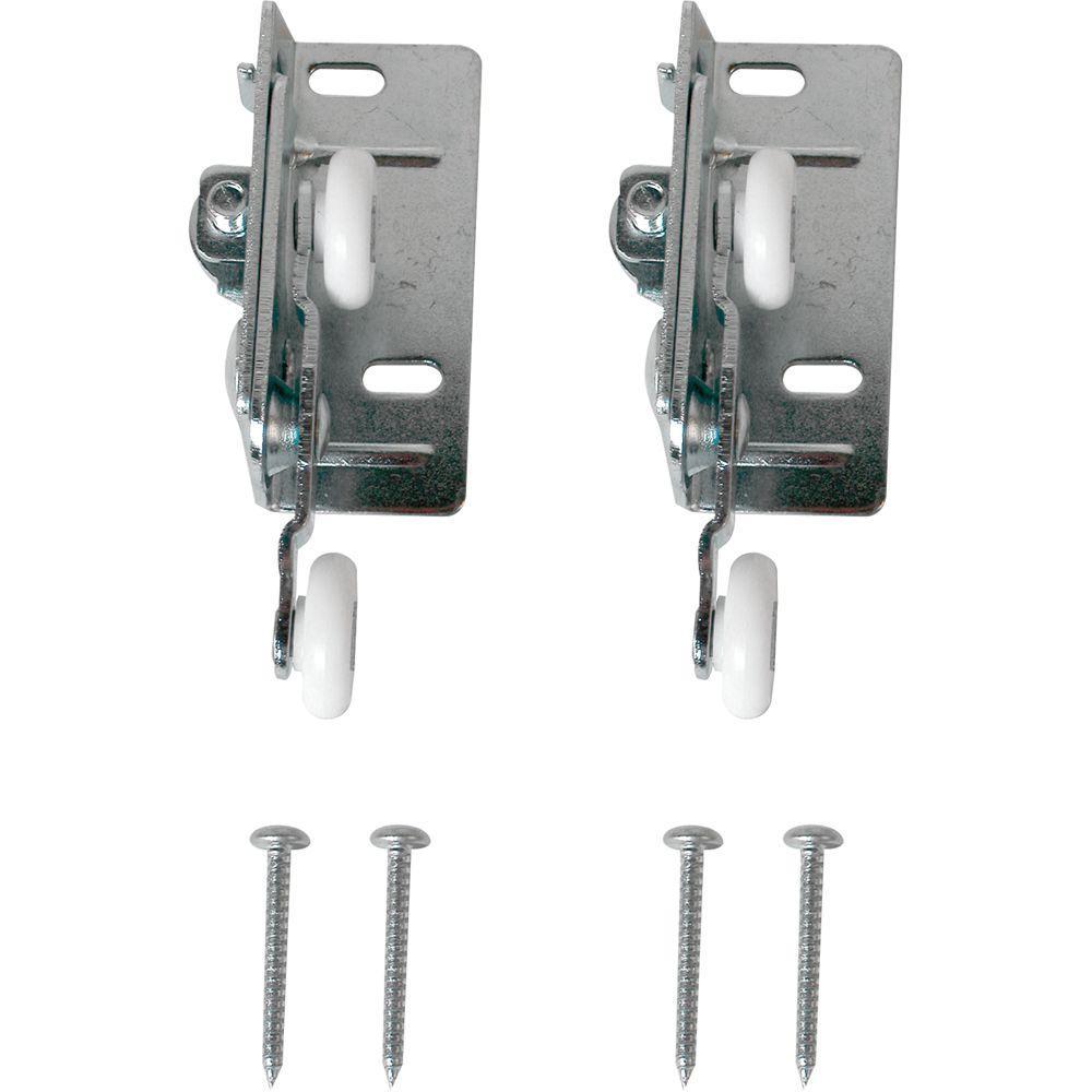 Prime Line Twin Pocket Door Roller Top Mount N 6530 The