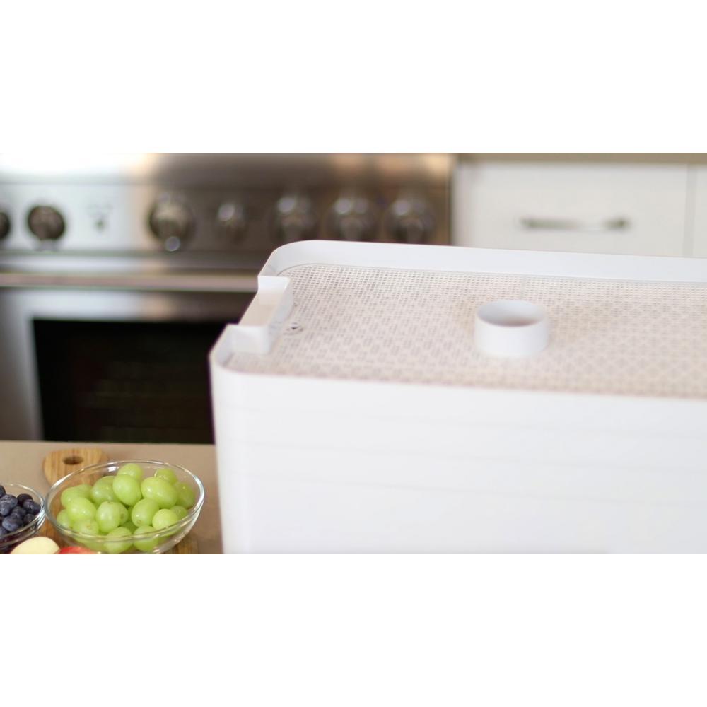 L'EQUIP-FilterPro 6-Tray Gray Food Dehydrator