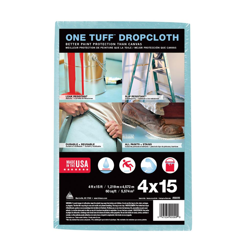 4 ft. x 15 ft. Drop Cloth