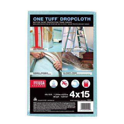 Trimaco One Tuff 4 ft. x 15 ft. Drop Cloth