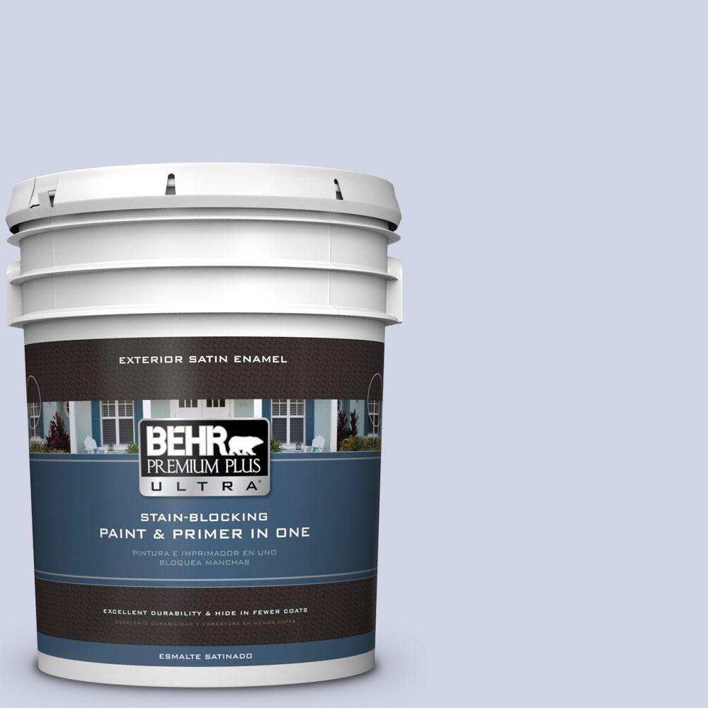 BEHR Premium Plus Ultra 5-gal. #630E-2 Purple Veil Satin Enamel Exterior Paint