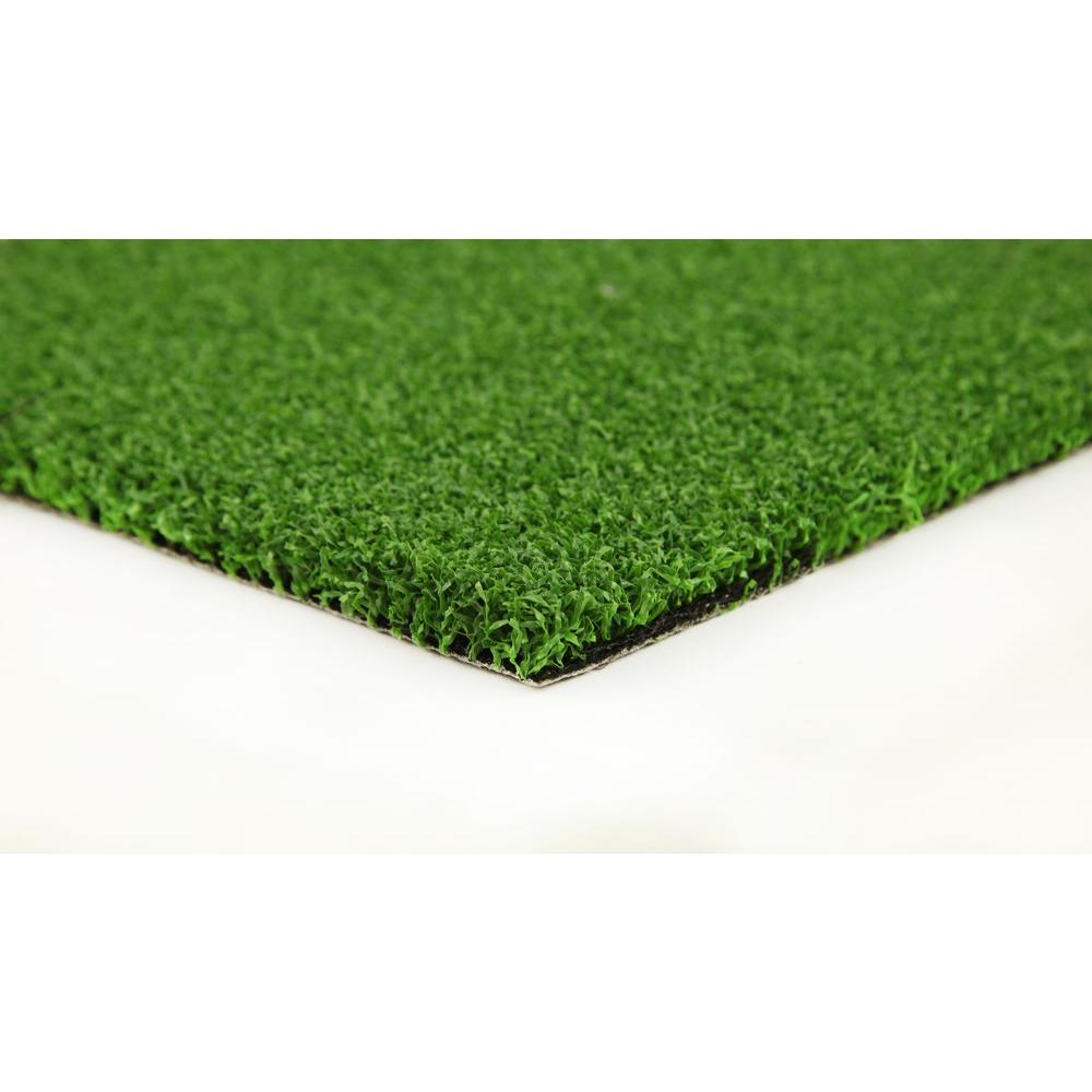 GREENLINE Putting Green 6 ft. x 8 ft. Artificial Synthetic Lawn Turf Grass Carpet for Outdoor Landscape