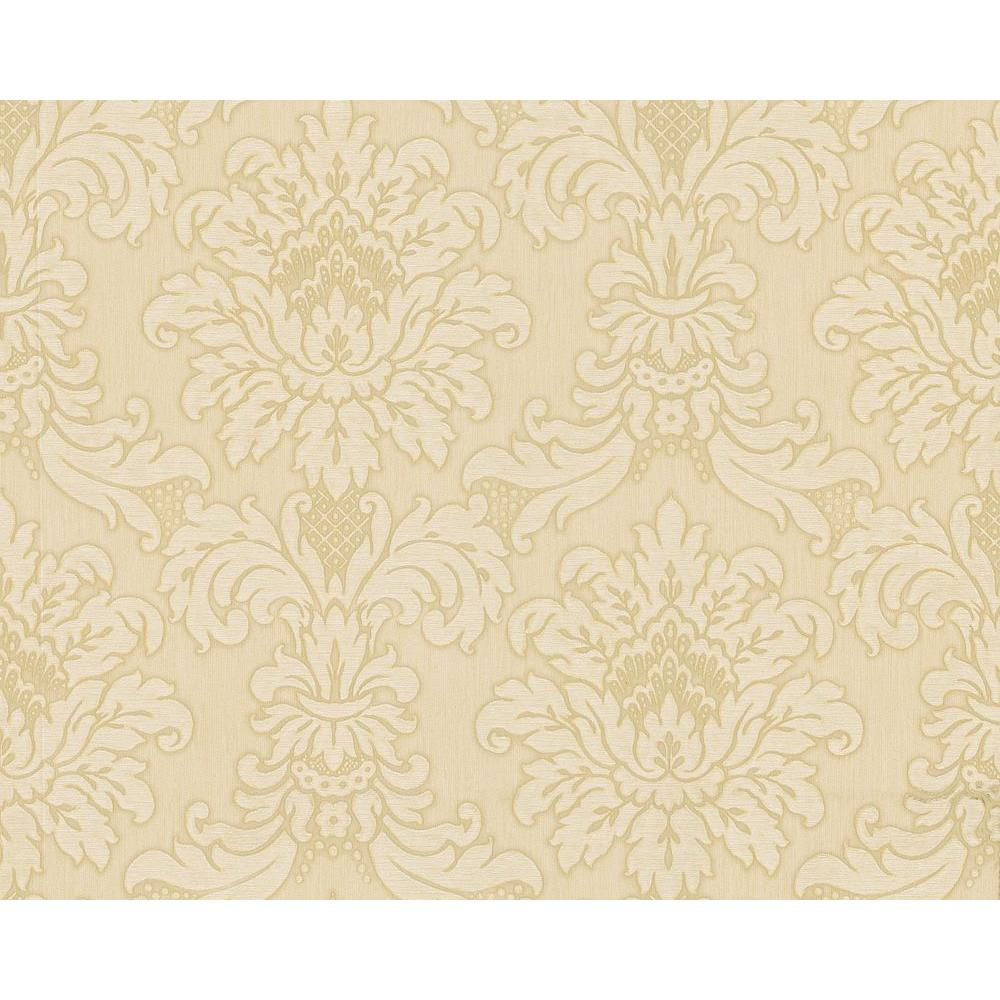 Brewster 75 sq. ft. Traditional Damask Wallpaper