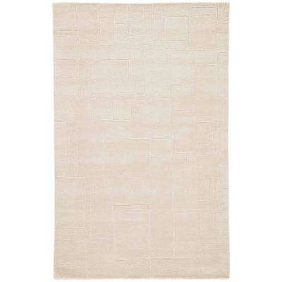 Tidal Foam 8 ft. x 10 ft. Geometric Area Rug