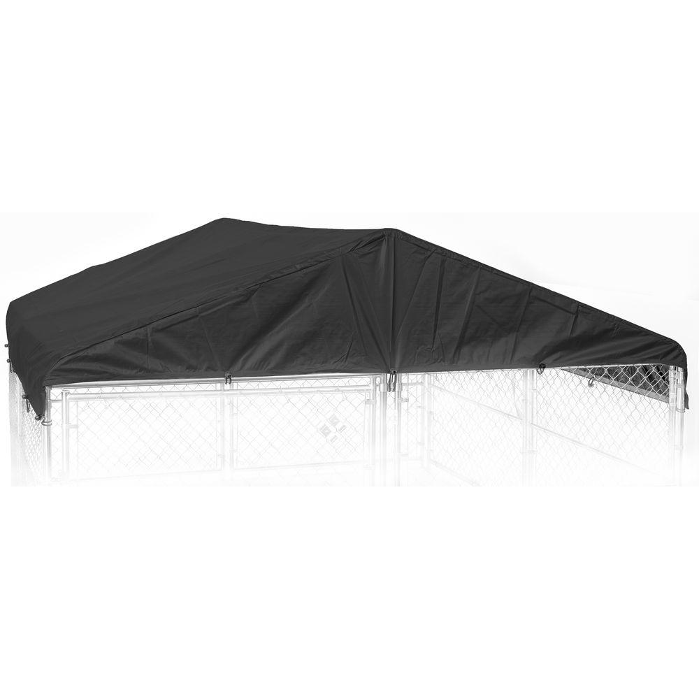 8 ft. W x 6.5 ft. L Kennel Frame and Cover Set for 28 mm ...