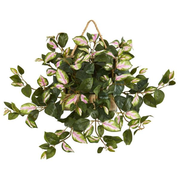 Nearly Natural 24 In Indoor Hoya Artificial Plant In Decorative
