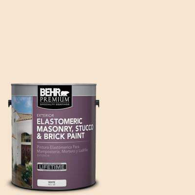 1 gal. #M280-2 Lunaria Elastomeric Masonry, Stucco and Brick Exterior Paint