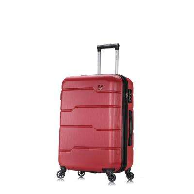 Rodez 24 in. Red Lightweight Hardside Spinner