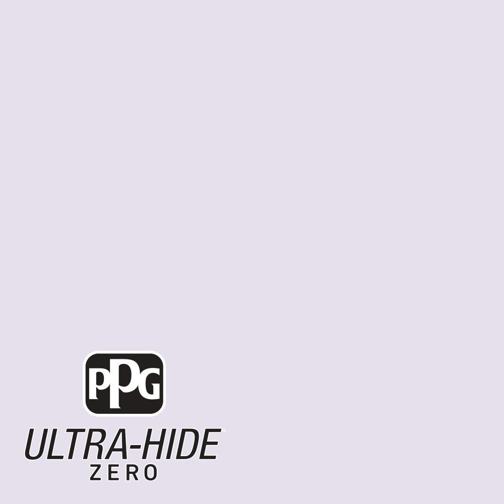 PPG 1 gal. #HDPV57U Ultra-Hide Zero Violet Tinge Eggshell Interior Paint