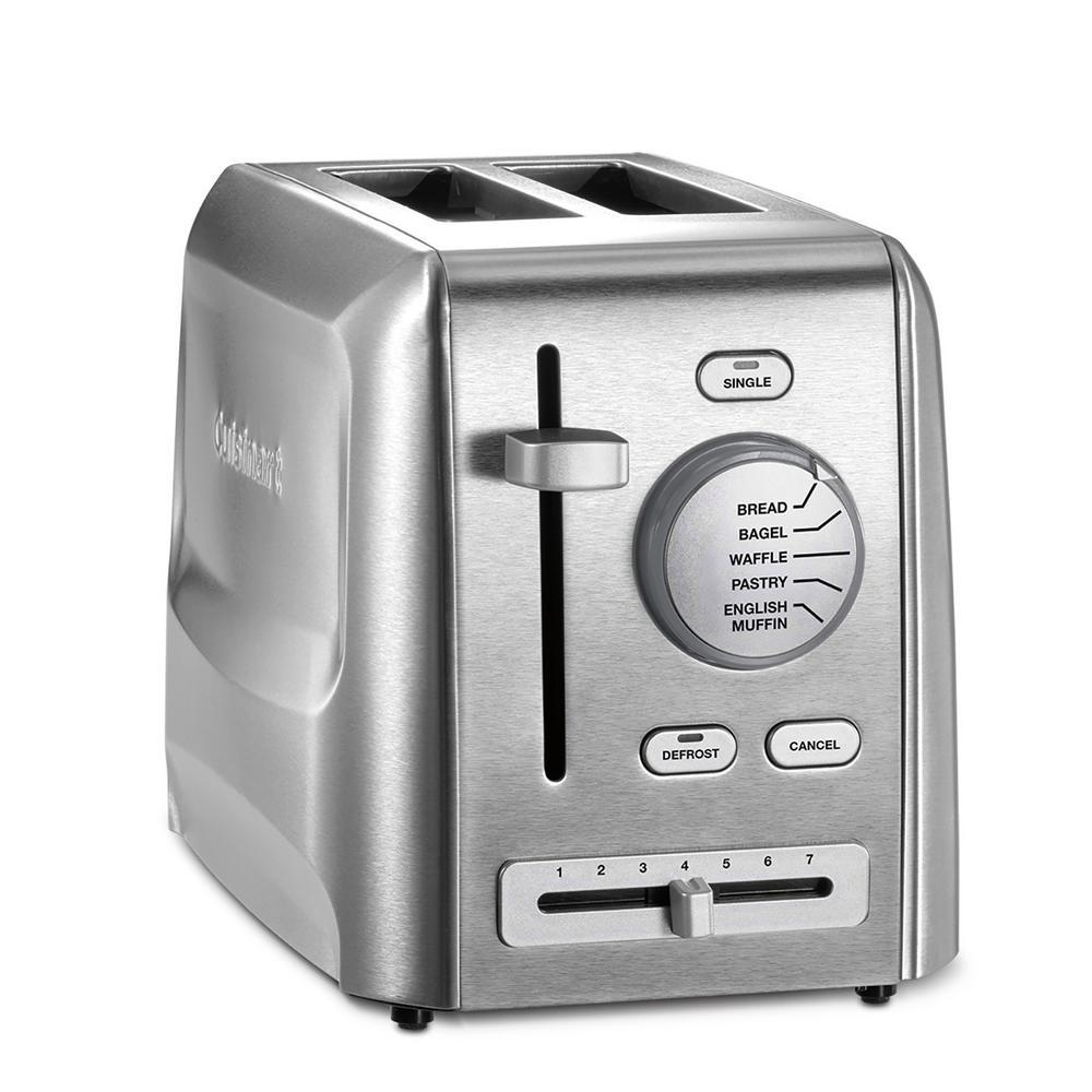 2-Slice Stainless Steel Custom Select Toaster