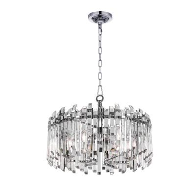 Henrietta 6-Light Chrome Chandelier